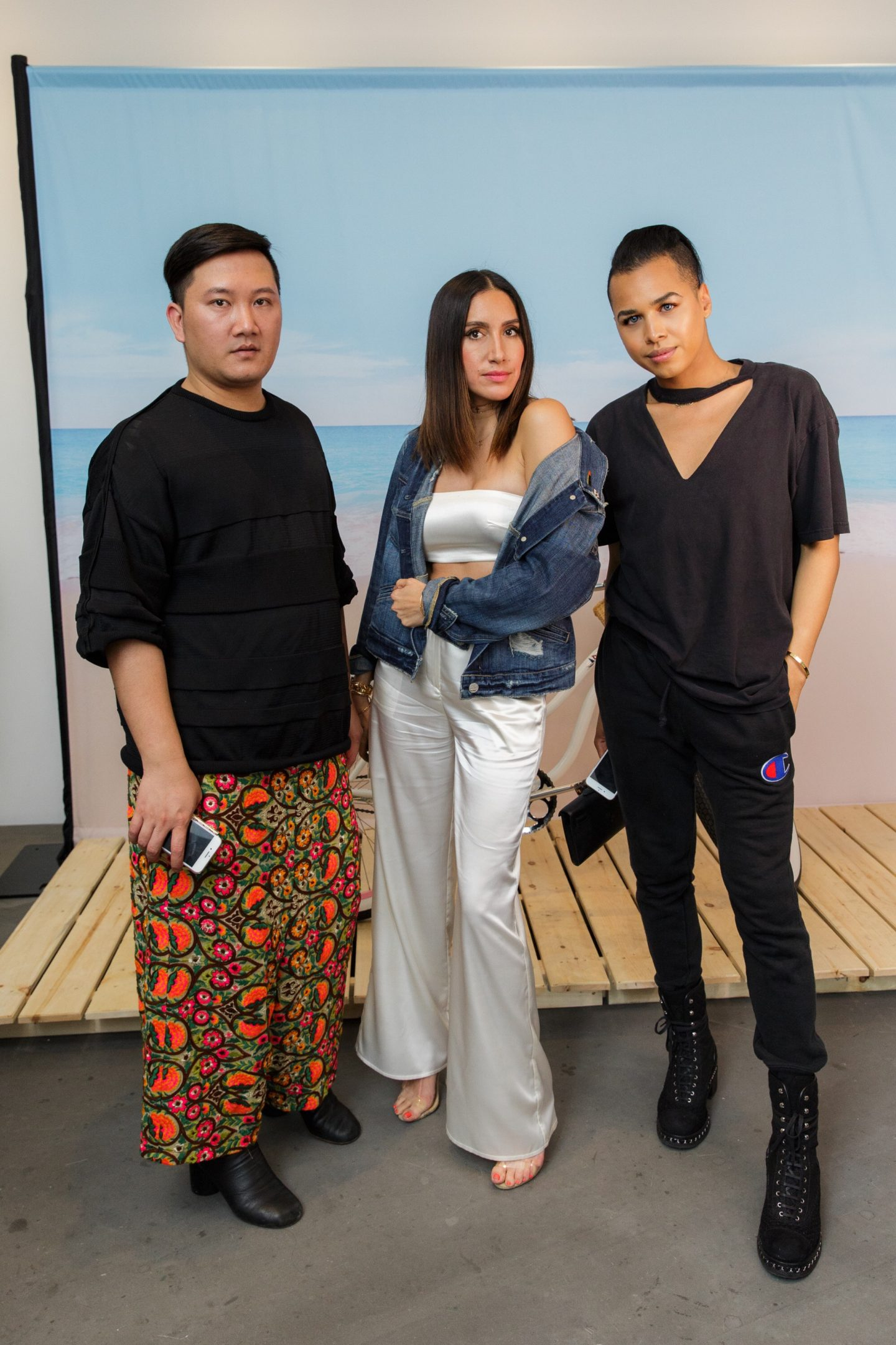Jay Sturt, Tony Pham, Jen Atkin Hair Stylist @ Launch of Dyson Supersonic Blowdryer Toronto, ON